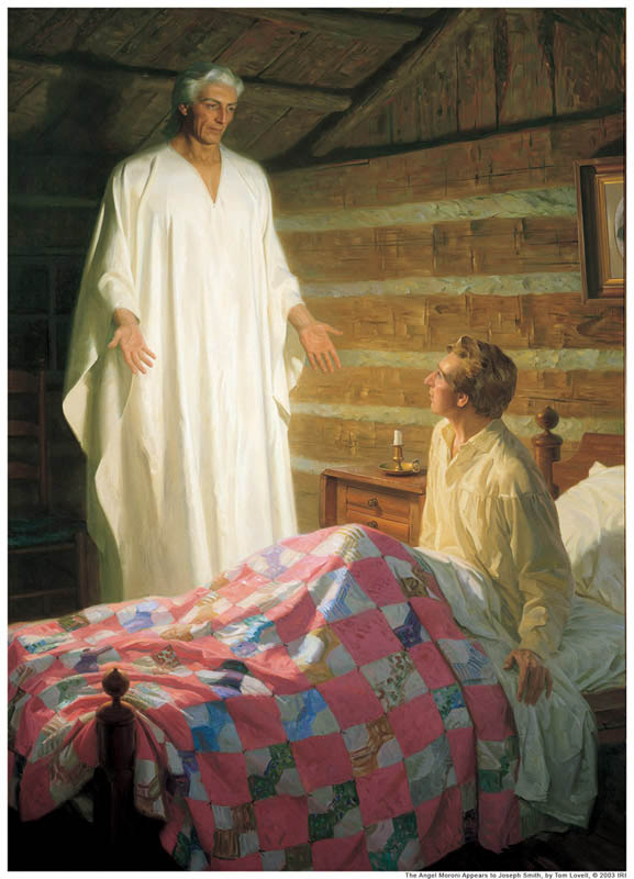 Joseph Smith Moroni Mormonism