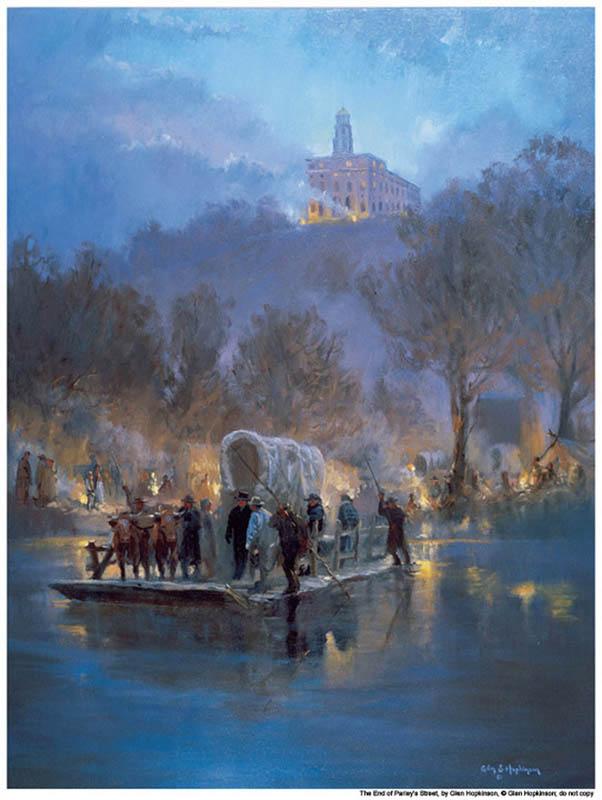 Nauvoo exodus Mormons